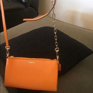 Never worn coach cross body